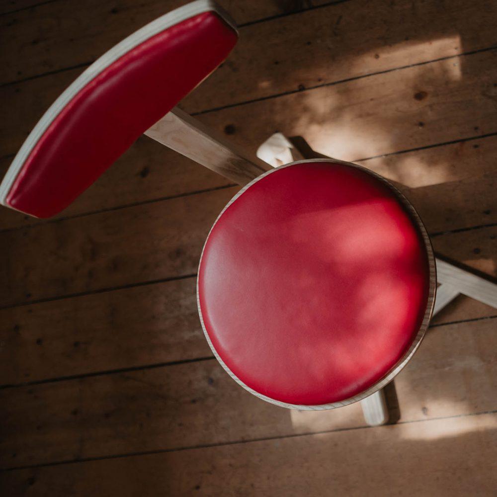 Tischlerei HolzWerk - feine moebel - Stuhl Aufsicht