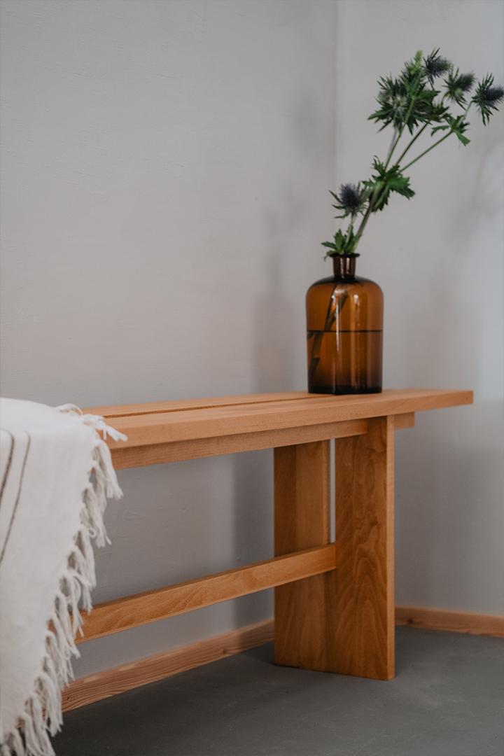 Tischlerei HolzWerk - feine moebel - Kuechenbank Seitenansicht