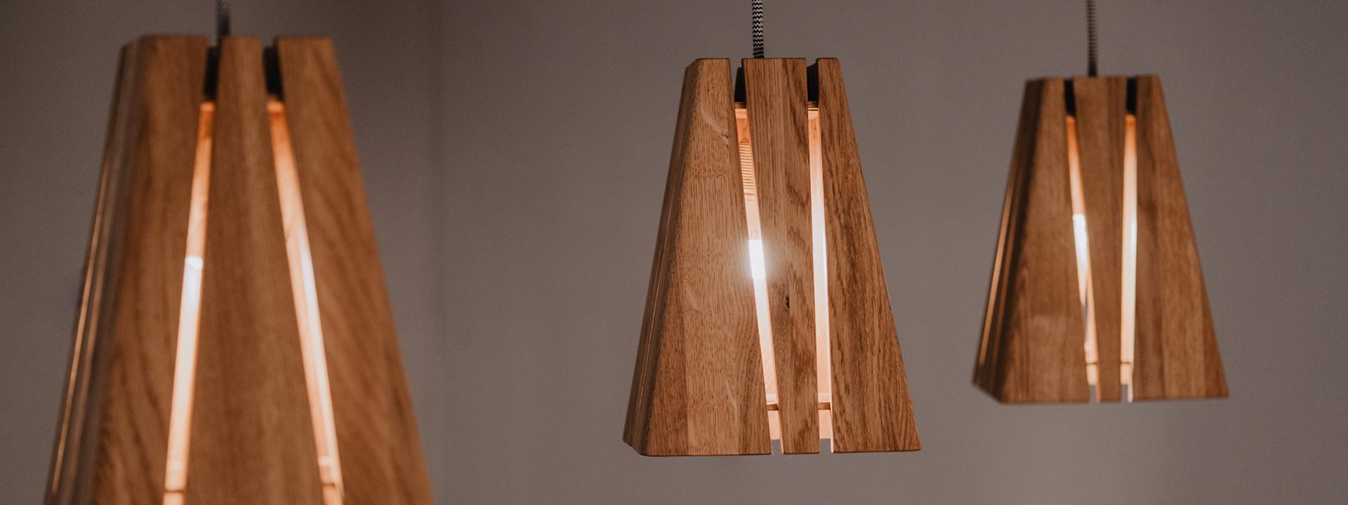Tischlerei HolzWerk - feine moebel - Lampe Lambert Dreifach Ansicht Komplett