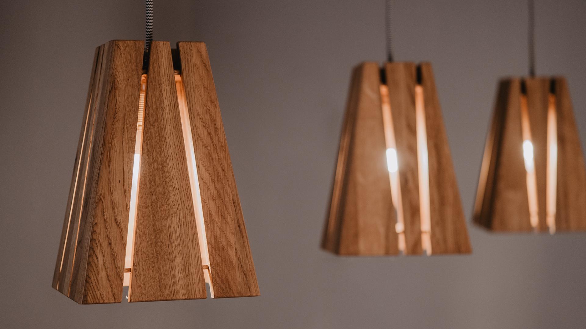 Tischlerei HolzWerk - feine moebel - Lampe Lambert Dreifach